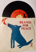 BEANIE! BEANIE! BEANIE! BEANIE FOR PEACE! BEANIE THE SINGING DOG ART SHIRTS MUSIC BY DAVID KLEIN